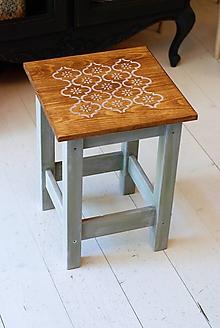 Kurzy - Workshop maľovania stolčekov 3.10.2019 - 11008180_