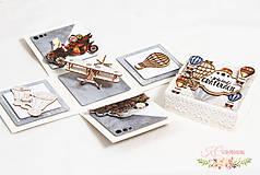 Papiernictvo - Darčeková krabička pre cestovateľa I - 11011480_