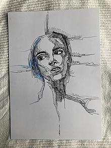Kresby - Keď sa obzrela - 11009381_