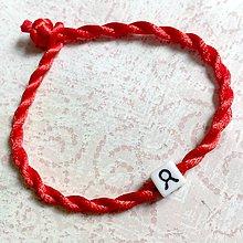 Náramky - Lucky Red Zodiac Sign Bracelet / Náramok proti urieknutiu so symbolom znamenia (Býk) - 11010132_
