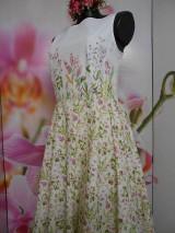 """Šaty - Maľované dlhé šaty """" Lesná lúka """" - 11009043_"""