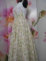 """Šaty - Maľované dlhé šaty """" Lesná lúka """" - 11009045_"""