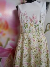 """Šaty - Maľované dlhé šaty """" Lesná lúka """" - 11009048_"""