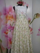 """Šaty - Maľované dlhé šaty """" Lesná lúka """" - 11009049_"""