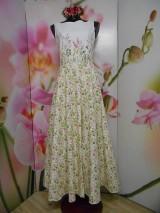 """Šaty - Maľované dlhé šaty """" Lesná lúka """" - 11009053_"""