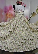 """Šaty - Maľované dlhé šaty """" Lesná lúka """" - 11009131_"""