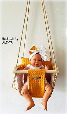 Textil - Hojdačka pre najmenších - 11011433_