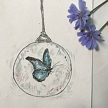 Obrazy - Motýľ - 11009725_
