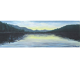 Obrazy - Jazero ide spať - 11009312_