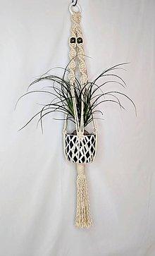 Dekorácie - Závesná dekorácia na kvetináč - 11010157_