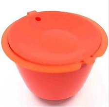 Iný materiál - Znovuplniteľné kapsule Dolce Gusto - oranžové - 11011636_