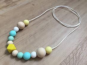 """Náhrdelníky - Náhrdelník (nielen) na kojenie """"Turquoise"""" - 11009253_"""