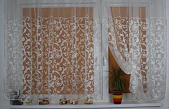 Úžitkový textil - Záclona Polónia - 11010851_