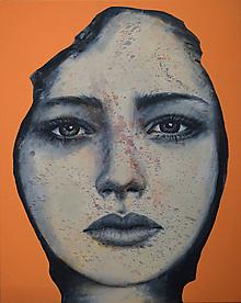 Obrazy - Žena v pršiplášti - 11011784_