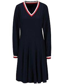 Šaty - Šaty Navy&trikolora - 11011132_