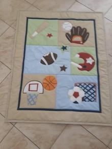 Textil - Detská deka...prehoz - 11010468_