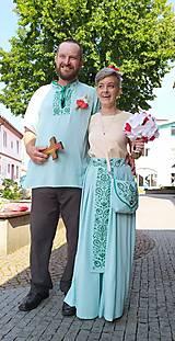 Šaty - Svadobné oblečenie - 11009083_