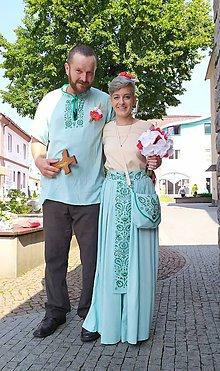 Šaty - Svadobné oblečenie - 11009085_