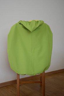 Detské doplnky - softshellová ochranná kapsa s odopínateľným flisom bez vrecka (Bordová) - 11014276_