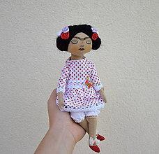Bábiky - Frida I...bábika - 11013190_