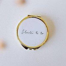 Zrkadielka - Zlaté zrkadielko Sluší ti to - 11012081_
