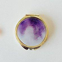 Zrkadielka - Zlaté zrkadielko ametyst - 11012090_