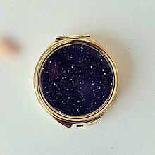 Zrkadielka - Zlaté zrkadielko black - 11012104_