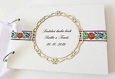 Papiernictvo - svadobná kniha hostí - 11012056_