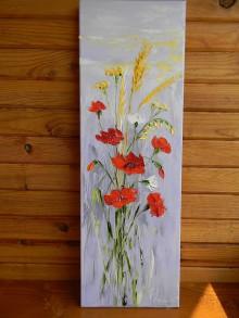 Obrazy - Maky a trávy - 11013010_