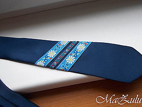 Doplnky - Folklórna kravata - 11012986_