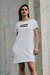 Šaty - FNDLK úpletové šaty 417 RKkL - 11012237_
