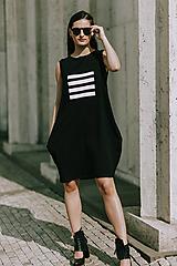 Šaty - FNDLK úpletové šaty 419 BL - 11012316_