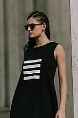 Šaty - FNDLK úpletové šaty 419 BL - 11012322_