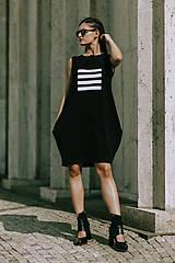 Šaty - FNDLK úpletové šaty 419 BL - 11012323_