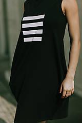 Šaty - FNDLK úpletové šaty 419 BL - 11012324_