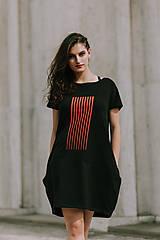 Šaty - FNDLK úpletové šaty 421 BKkL - 11012403_