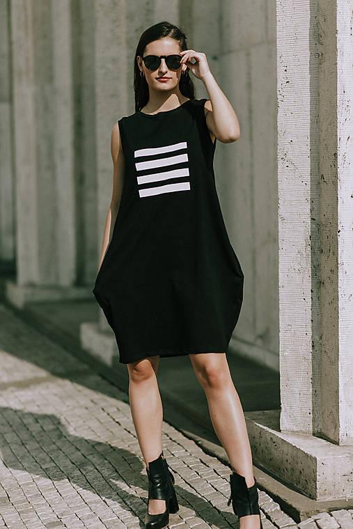 FNDLK úpletové šaty 419 BL