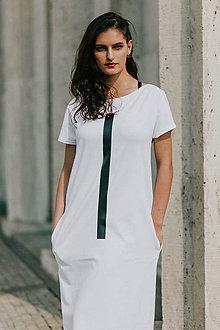 Šaty - FNDLK úpletové šaty 418 RKkL midi - 11012271_