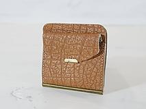 Peňaženky - Kožená dolarovka - klasik - 11012122_