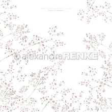 Papier - Vzorovaný papier A.Renke Gypsomilka - 11013337_