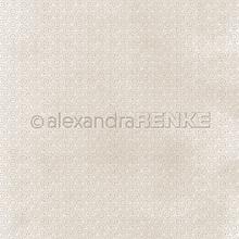 Papier - Vzorovaný papier A. Renke Zlaté kruhy na bahne - 11013343_