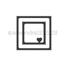Pomôcky/Nástroje - Rezacia šablóna A. Renke Známka srdce - 11013383_