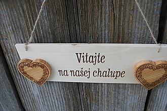 """Tabuľky - tabuľka""""Vitajte34"""" - 11014236_"""