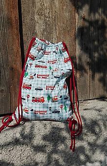 Detské tašky - Vak/Batoh pre malého hasiča a policajta II. - 11013325_
