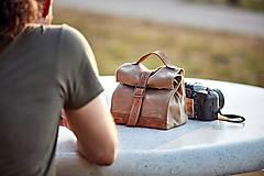 Iné tašky - Lunchbag. Čierna taška na jedlo - 11012386_