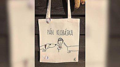 Iné tašky - ♥ Plátená, ručne maľovaná taška ♥ - 11013749_
