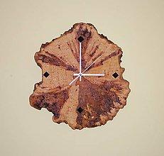 Hodiny - Drevené nástenné hodiny - Brezové 1 - 11013452_