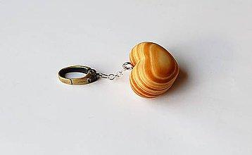 Kľúčenky - Kľúčenka - Smrekové srdiečko 4 - 11013557_
