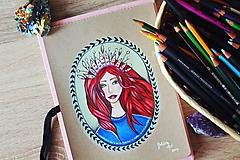 Kresby - Kráľovná všetkého magického - 11013125_