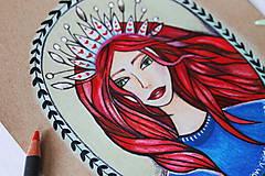 Kresby - Kráľovná všetkého magického - 11013126_